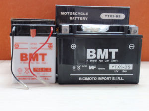 12V 8A Motorcycle Battery (YTX9-BS) pictures & photos