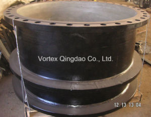 Double Flange Pipe With Puddle Flange pictures & photos