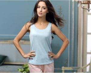 Wholesale Slim Fit/ Bodybuilding Plain Custom Women Tank Top pictures & photos