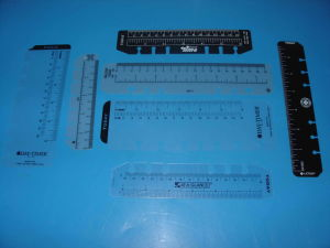 Promotional Gifts Wholesale Custom Plastic Ruler / Cheap Scale PP Ruler pictures & photos