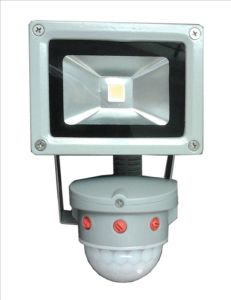 10W IP65 PIR Sensor LED Floodlight with CE, RoHS&EMC Approval