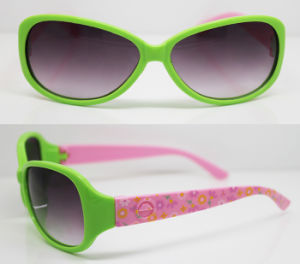 Plastic Injection Kids Frame Sunglasses (XZ039) pictures & photos