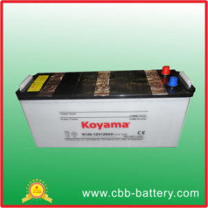 The Most Competitive Supplier of N120 12V120ah Dry Charged Auto Battery/ Auto Battery pictures & photos
