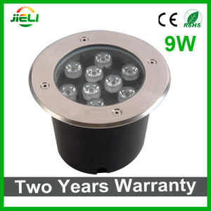 Good Quality 9W 12V Warm White/White LED Underground Light pictures & photos