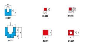 Euro Amada Promecam Holders and Polyurethane Inserts (1646) pictures & photos