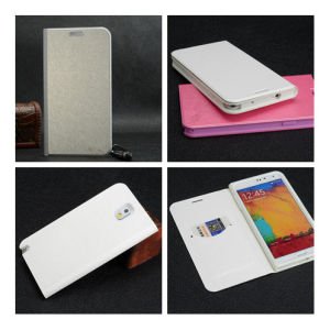 Factory Price Flip Leather Phone Case for Samsung Note 3 pictures & photos