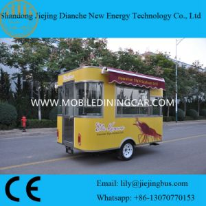China Supplier Movable Fast Pizza Food Cart/Food Vending Cart on Sale pictures & photos