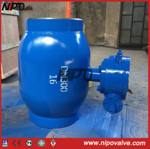 Forged Steel Fully Welded Trunnion Ball Valve pictures & photos