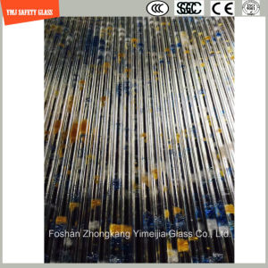 4-19mm Safe Construction Glass, Sand Blasting, Hot Melting Patterned Glass for Hotel & Home Door/Shower/Partition/Fence with SGCC/Ce&CCC&ISO Certificate pictures & photos
