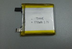 3.7V Li-Polymer Battery 754445 1700mAh pictures & photos