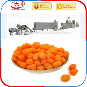 Stainless Steel Puffed Snack Food Production Line pictures & photos