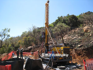 Mineral Prospecting Equipment, Full Hydraulic Diamond Core Drilling Rig pictures & photos