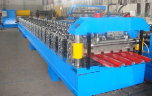Russian Hc60 Roof Sheet Roll Forming Machine