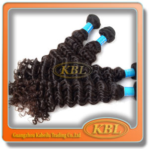 Human Hair Weft of Brazilian Curly Weave pictures & photos