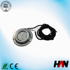 Hot Sell 12V 6*1W High Power Waterproof LED Yacht Light