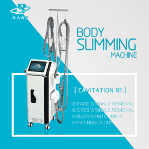Multifunction RF with Cavitation Body Slimming Face Tightening Machine pictures & photos