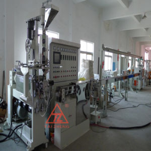 Nylon Materials Covered Wire Extrusion Machine pictures & photos