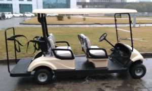 Best Selling Electric Utility Vehicle 4 Seats Electric Golf Cart Made by Dongfeng pictures & photos