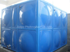 Industrial Solar Hot Water Insulated Galvanized Storage Water Tank