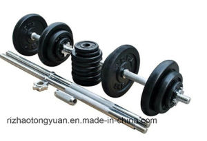 50kg Painted Dumbbell Set with Carrying Box pictures & photos