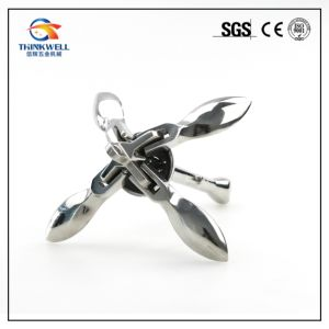 Stainless Steel Marine Hardware Grapnel Folding Anchor pictures & photos