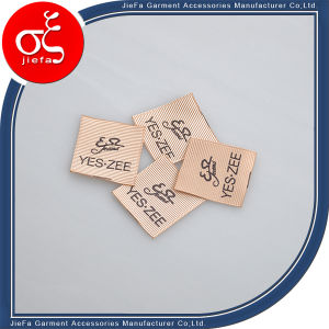 Custom Silk Printing Wash Care Label/Printing Brand Clothing Label pictures & photos