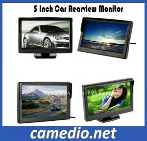 5inch Car LCD Monitor Display Digital Screen 800*480 with 2AV Inputs pictures & photos