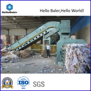 Cardboard Baling Machinery with Conveyor Belt (HFA13-20) pictures & photos