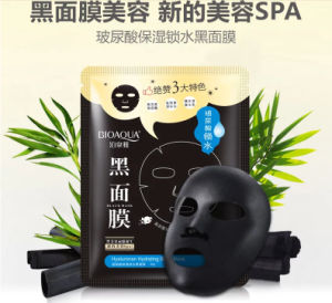 Bioaqua Hyaluronan Hydrating Black Mask 30g/PCS Whitening Face Mask Peeling off Facial Mask pictures & photos