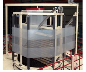 3 Layers Co-Extrusion Film Blown Machine with Oscillation Take up Unit pictures & photos
