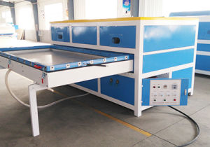 PVC Foil Vacuumed Membrane Pressing Machine for MDF Board Prints Furniture Overlays for Doors pictures & photos