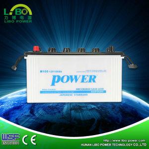 Dry Charged Lead Acid JIS Vehicles Battery---95e41r/L--12V 100ah