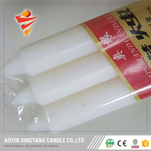 Wholesale Cheap 25g White Stick Candles for Middeast Market pictures & photos