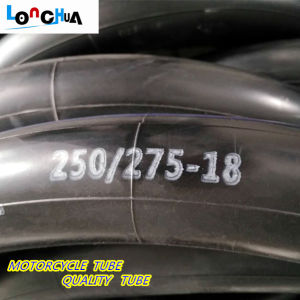 High Tension Natural and Butyl Rubber Inner Tube for Motorcycle pictures & photos