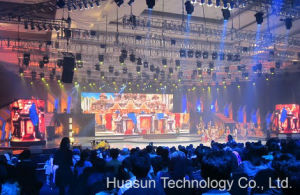 Flexible LED Display Curtain for Stage Backdrop, Rental, Video Wall pictures & photos