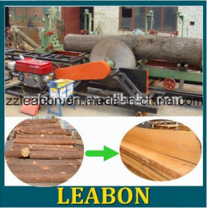 Wood Double Saw Blade Electric Sawmill pictures & photos