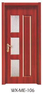 Low Price Excellent Quality Hotsale Melamine Door (WX-ME-106) pictures & photos