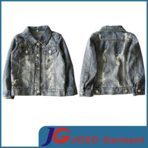 Factory Wholesale Denim Jackets for Kids (JT8017) pictures & photos