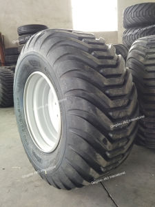 Agricultural Flotation Tire 550/60-22.5 with Wheel Rim 16.00X22.5 pictures & photos