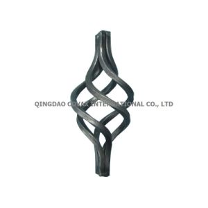 Wrought Iron Baluster Cages Mj02.080 Wrought Iron Basket pictures & photos