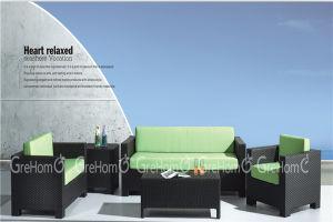 Outdoor Rattan Sofa Set with Cushion