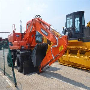 Doosan 12tons Wheel Manual Excavator pictures & photos