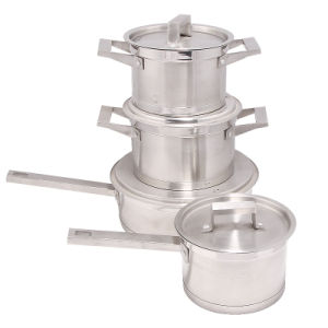 2014 Hot Sale Stainless Steel Cookware Pot Set pictures & photos