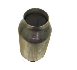Honeycomb Catalytic Converter with Metal Substrate Catalyst for Motorcycles pictures & photos