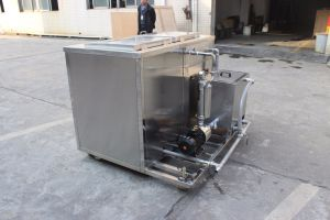 Double Tank Bolts and Gears Cleaning Tool Ultrasonic Cleaning Machine Jp-2144G pictures & photos