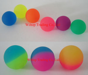Translucency Rubber Bouncing Ball (PM182) pictures & photos