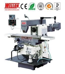 Horizontal Milling Machine with Swivel Table (Universal Milling Machine XL6136) pictures & photos