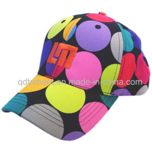 Fashion Colorful Design Fabric Embroidery Leisure Baseball Cap (TMB00620-1) pictures & photos