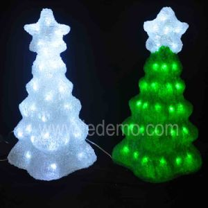 Christmas Decoration LED Acrylic Tree Light (LDM-TREE-53CM) pictures & photos
