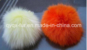 (15 colors) Hotsale Xmas Gifts Fuax Fur Balls Unisex Keyring 8cm Size Kay Tag Fashion Accessories pictures & photos